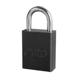 A3105 American Lock - Small Format Interchangeable Core Padlock - Aluminum