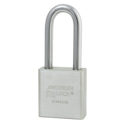 A5401 American Lock Stainless Steel Weather-Resistant Padlock