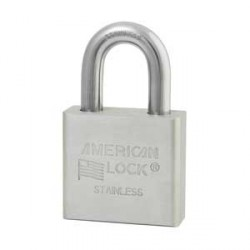A6460 American Lock Stainless Steel Weather-Resistant Padlock