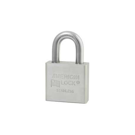 A6460 American Lock Stainless Steel Weather-Resistant Padlock