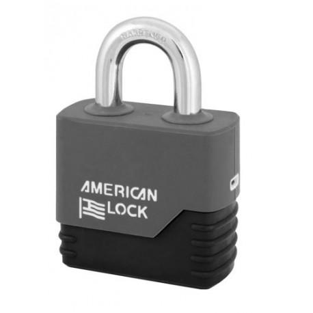 """A5260COV American Lock Weather Tough Solid Steel Rekeyable Padlock 2-1/2"""" (64mm)"""