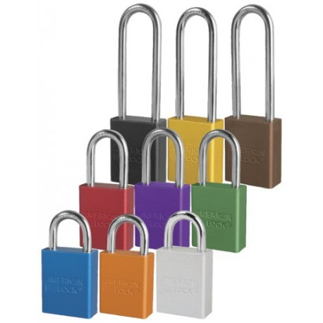 American Lock S1105/S1106/S1107 Series OSHA Safety Lockout Padlock