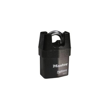 "Master Lock 6321 Solid Iron Shrouded High Security Pro Series Rekeyable Padlock 2-1/8"" (54mm)"