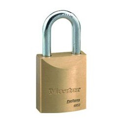 Master Lock 6852 Pro Series Key-in-Knob Door Key Solid Brass Padlock