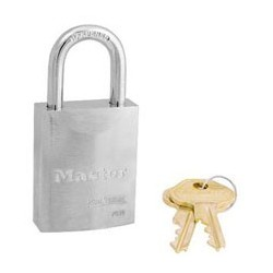 "Master Lock 7030 Solid Steel Pro Series Rekeyable Padlock 1-9/16"" (40mm)"