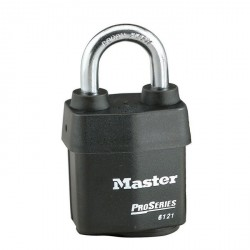 Master Lock 6121 Weather Tough Pro Series Rekeyable Padlock