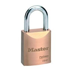 "Master Lock 6841 ProSeries - Solid Brass Interchangeable Core Padlock 1-3/4"" (44mm)"