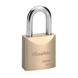 "Master Lock 6850 Solid Brass Pro Series Rekeyable Padlocks 2"" (51mm)"