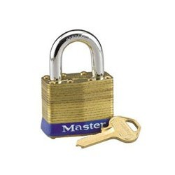 Master Lock 24 Rekeyable Laminated Brass Padlock