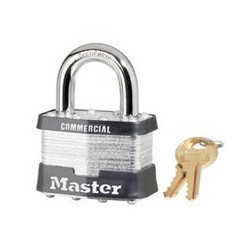 "Master Lock 5, 5KA, 5 Laminated Steel Padlock 2"" (51mm)"