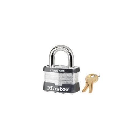 "Master Lock 5, 5KA, 5 Laminated Steel Padlock 2"" (51mm)"