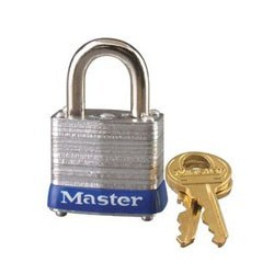 "Master Lock 7, 7KA Laminated Steel Padlock 1-1/8"" (29mm)"