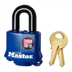 "Master Lock 312 Covered Laminated Steel Padlock 1-9/16"" (40mm)"