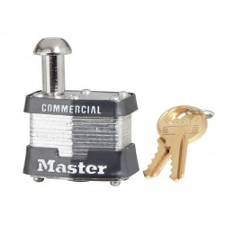 "Master Lock 443 Non-Rekeyable Vending and Meter Padlock 1-9/16"" (40mm)"