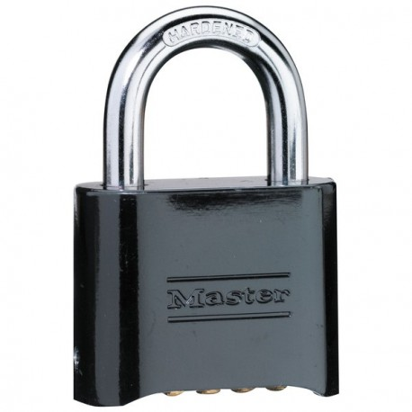 Master Lock 178BLK Set-Your-Own Combination (Black)