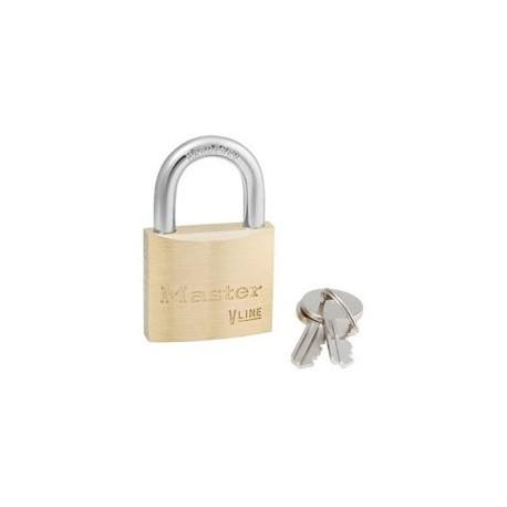 "Master Lock 4140 Economy Brass Series Padlock 1-1/2"" (38mm)"