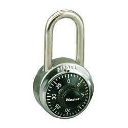 Master Lock 1500LF Long Shackle Combination Padlock
