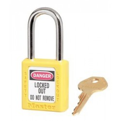 Master Lock 410 Zenex OSHA Safety Lockout Padlocks