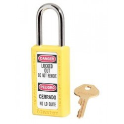 Master Lock 411 Tall Body Zenex OSHA Safety Lockout Padlock