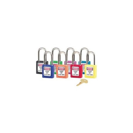 Master Lock 410AST OSHA Safety Padlock Rainbow Pack