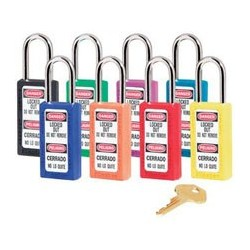Master Lock 411AST OSHA Safety Padlock Rainbow Pack