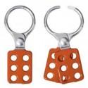 """Master Lock 417 OSHA Safety Lockout Hasp Aluminum 1-1/2"""""""