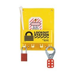 Master Lock S1705P1106 OSHA Compact Lockout Station