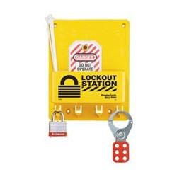 Master Lock S1705P3 OSHA Compact Lockout Station