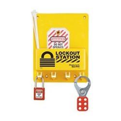 Master Lock S1705P410 OSHA Compact Lockout Station