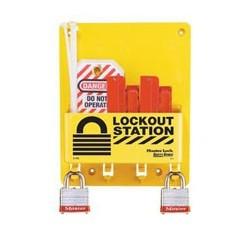 Master Lock S1720E3 OSHA Compact Lockout Station