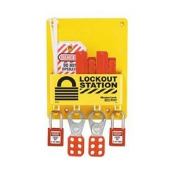 Master Lock S1720E410 OSHA Compact Lockout Station