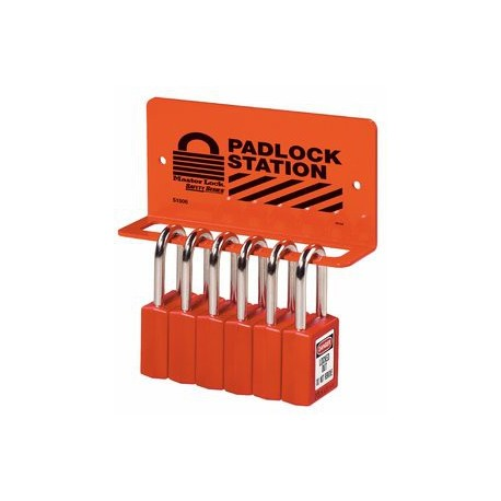 Master Lock S1506 Heavy Duty Padlock Rack