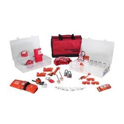 Master Lock 1458VE3 - Group Lockout Kit with Laminated Steel Locks - Valve AND Electrical