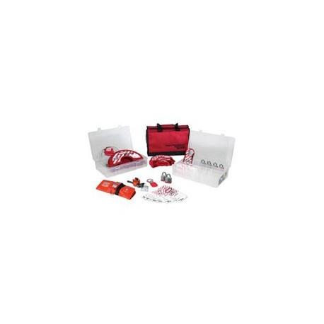 Master Lock 1458V3 - Group Lockout Kit with Laminated Steel Locks - Valve