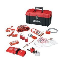 Master Lock 1457VE1106KA - Portable Personal Lockout Kit - Valve AND Electrical