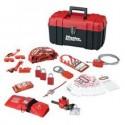 Master Lock 1457VE1106KA - Portable Personal Lockout Kit - Valve & Electrical