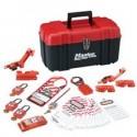 Master Lock 1457E410KA - Portable Personal Lockout Kit - Electrical