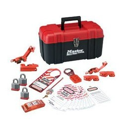 Master Lock 1457E3KA - Portable Personal Lockout Kit - Electrical