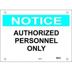 Master Lock S20350, S20351, S20352 Guardian Extreme Sign - Notice Signs