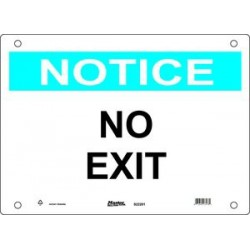 Master Lock S22200, S22201, S22202 Guardian Extreme Sign - Notice Signs