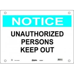 Master Lock S23650, S23651, S23652 Guardian Extreme Sign - Notice Signs