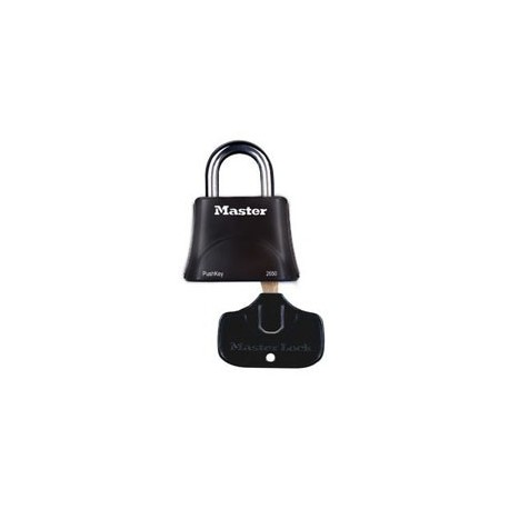 Master Lock 2650 Pushkey Portable Padlock