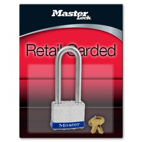 "Master Lock 1DLJ Non-Rekeyable Laminated Steel Pin Tumbler Padlock 1-3/4"" (44mm)"