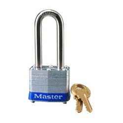 "Master Lock 3DLH Non-Rekeyable Laminated Steel Pin Tumbler Padlock 1-9/16"" (40mm)"