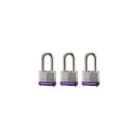 """Master Lock 3TRILF  Non-Rekeyable Laminated Steel Pin Tumbler Padlock 1-9/16"""" (40mm)"""