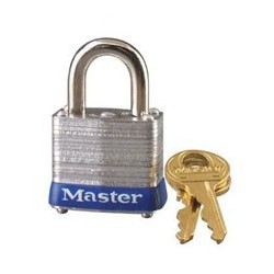 "Master Lock 7D Non-Rekeyable Laminated Steel Pin Tumbler Padlock 1-1/8"" (29mm)"