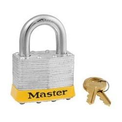 "Master Lock 5DPF Non-Rekeyable Laminated Steel Pin Tumbler Padlock 2"" (51mm)"