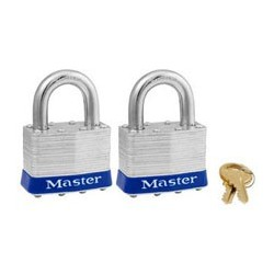Master Lock 5T Non-Rekeyable Laminated Steel Pin Tumbler Padlock