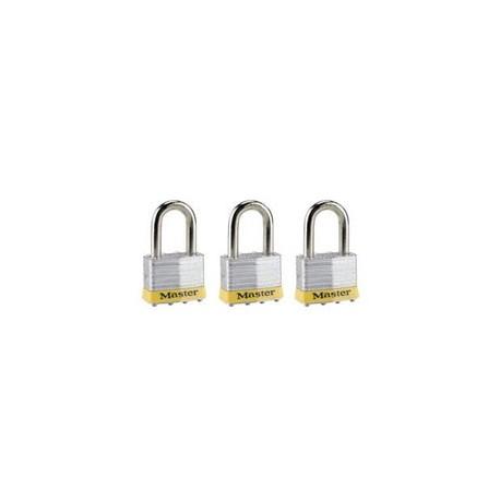Master Lock 5TRILFPF Non-Rekeyable Laminated Steel Pin Tumbler Padlock