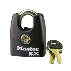 Master Lock 1DEX EX Series Shrouded Padlock
